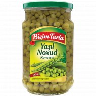 Горошек зеленый «Bizim Tarla» консервированный стерилизованный,680 г