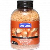 Соль для ванн «On Line» с пеной, аргановое масло, 600 г.