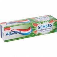 Зубная паста «Aquafresh» Senses, арбуз, огурец и мята, 75 мл.