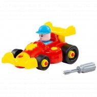 Конструктор-транспорт «Автомобиль гоночный» 22 элемента.