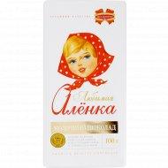 Шоколад «Любимая Аленка» молочный, 100 г