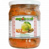 Солянка овощно-грибная из свежей капусты, 450 г.
