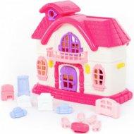 Кукольный домик «Сказка» с набором мебели, 12 элементов