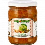 Солянка овощно-гриб.с гриб.маслята 450г