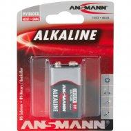 Батарейка «Ansmann» Alkaline 9V E.