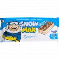 Бисквитное пирожное «Snow max» с молочной начинкой, 150 г.