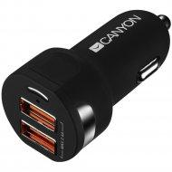Автомобильное зарядное устройство «Canyon» CNE-CCA04B.