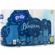 Полотенца бумажные «Blossom» 2 слоя, 4 рулона.
