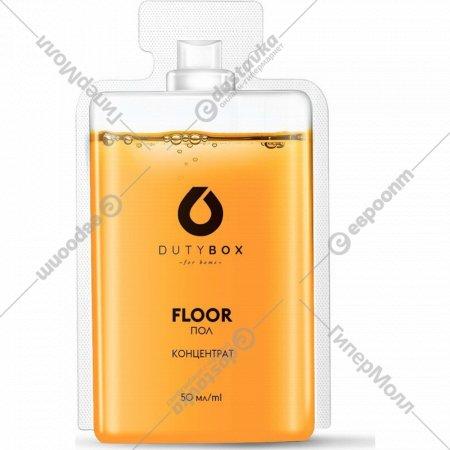 Средство моющее «Duty Box» Floor, концентрат, 1 капсула, 50 мл