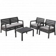 Комплект мебели «Keter» Delano Set, графит.