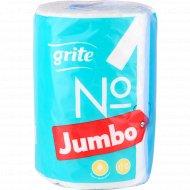 Полотенца бумажные «Grite» 2 слоя, 1 рулон