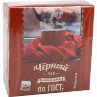 Чай черный мелк.(пакет.с/я,по ГОСТу)170г
