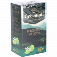 Чай черный «Greenhill» байховый со вкусом бергамота, 100 г
