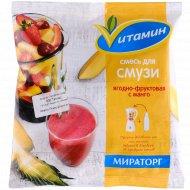 Смесь для смузи «Vитамин» ягодно-фруктовая с манго, 300 г.