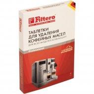 Таблетки для удаления кофейных масел «Filtero» 613, 4 шт.