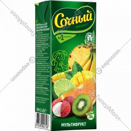 Нектар «Сочный фрукт» мультифруктовый, 200 мл