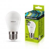 Лампа светодиодная «Ergolux» LED-G45-11W-E27-6K.