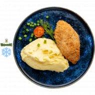 Котлета «По-киевски» с картофельным пюре, замороженная, 125/150 .