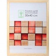 Рамка деревянная со стеклом 30 Х 40 см.