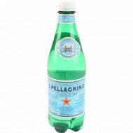 Вода минеральная «S. Pellegrino» газированная, 0.5 л.