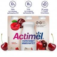 Продукт кисломолочный «Actimel» вишня и черешня, 2.5%, 6 х 100 г