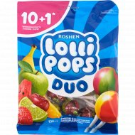 Карамель леденцовая «Roshen Lollipops Duo» 139 г.