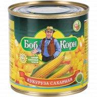 Кукуруза «Боб Корн» сахарная, 425 мл