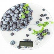 Кухонные весы «Lumme» LU-1341, черничная россыпь