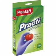 Перчатки «Paclan Practi» нитриловые, размер M, 10 шт