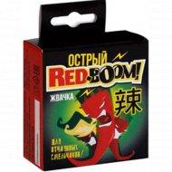 Жевательная резинка «Red-Boom» дражированная, острая, 30 г.