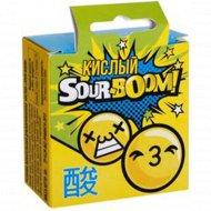 Жевательная резинка «Sour-Boom» дражированная, кислая, 30 г.