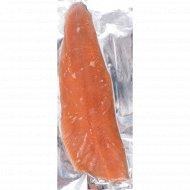 Филе лосося, замороженное, 1 кг, фасовка 1.5-2 кг