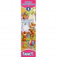 Акварель медовая «Fancy» без кисти, 6 цветов.