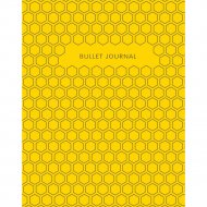 Блокнот «Bullet Journal» желтый, 120 стр.