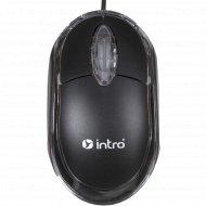 Мышь проводная «Intro» MU109, черная c подсветкой.
