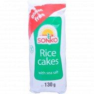 Галеты рисовые «SONKO» с морской солью 130 г