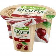 Сыр «Рикотта» 50 % вишня 100+25 г.
