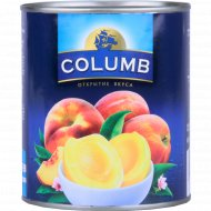 Персики «Columb» резаные половинками, 820 г.