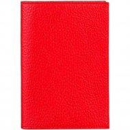 Обложка на паспорт «Fabula» O.1.BK, красный