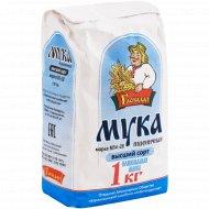 Мука пшеничная «Гаспадар» М 54-28, высший сорт, 1 кг.