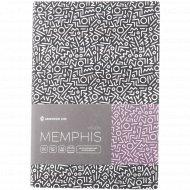 Недатированный ежедневник B6 «Vision. Memphis» 136 листов.