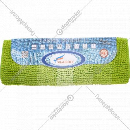 Набор ковриков для ванной комнаты «Multimakaron» зеленый.