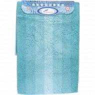 Набор ковриков для ванной комнаты «Multimakaron» голубой .