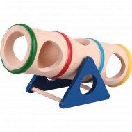 Игрушка для грызунов деревянная «Тоннель» 16.5х7.5х8 см.