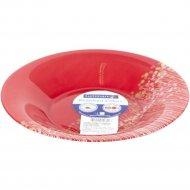 Тарелка «Luminarc» глубокая, Flowerfield red, H2484, 128228