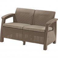 Диван «Keter» Corfu Love Seat, коричневый.