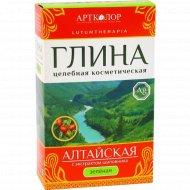 Глина зеленая «Алтайская» с экстрактом шиповника, 100 г.