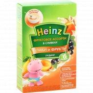 Пудинг «Heinz» фруктовое ассорти, в сливках, 200 г.