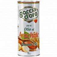 Масло арахисовое «GoggiaD`oro» 1 л.