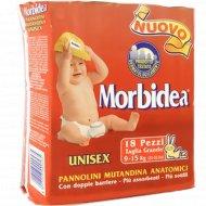 Подгузники «Morbidea Grande» размер 4, вес 9-15 кг, 18 шт.